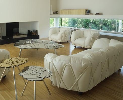 big fluffy sofas corbeille edra 3 Big Fluffy Sofas   Corbeille Sofa by Edra