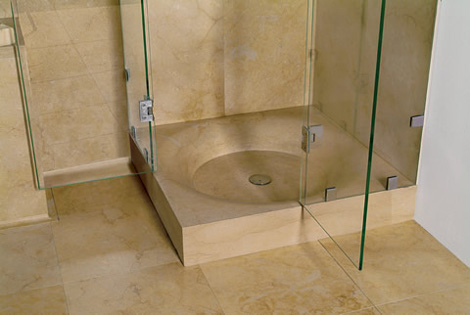 Leonardo stone shower base