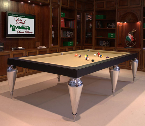 billiard tables cabochon parigi mbm billardi 2 Billiard Dining Tables by MBM Billardi   convertible