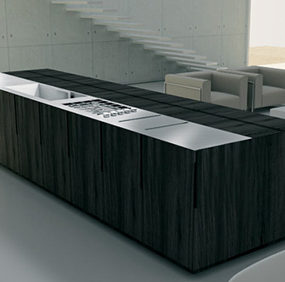 Motorized Kitchen from Binova – Anima concept kitchen