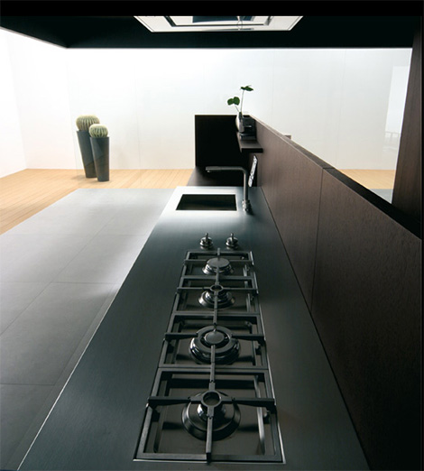Binova Modus kitchen - cooktop