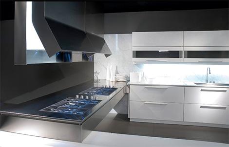 Binova Prima AV kitchen - exhaust hood