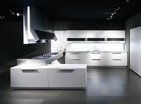 Binova Prima AV kitchen white