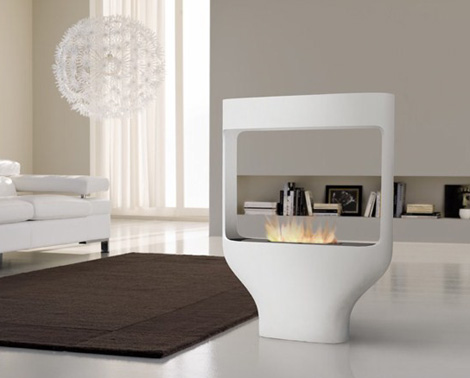 Italian Fireplace Designs Interesting Design Tulip By Biofireplace