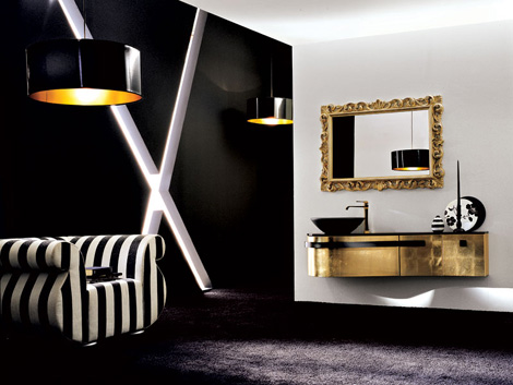 birex vanity versa 1 Luxury Vanity collection: Birex Versa lacquered and wooden