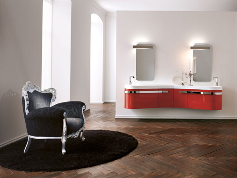 birex vanity versa 2 Luxury Vanity collection: Birex Versa lacquered and wooden