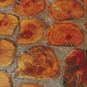 Cobbleblock Tree Rounds Flooring by Birger Juell – the 'down to earth' floors