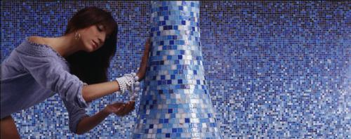 bisazza blue Bisazza   the Queen of the glass tile