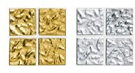 bisazza gold tile Bisazza   the Queen of the glass tile