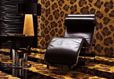 bisazza mosaic leopardo new Mosaic Tiles by Bisazza   the new 2008 collection