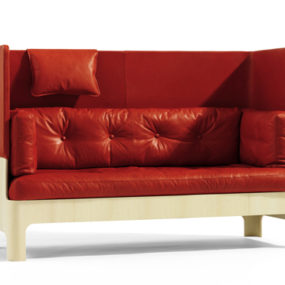 Formal Sofas for a Formal Foyer – unusual sofa Koja from Bla Station