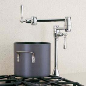 New Pot Filler from Blanco – Deck Mount Pot Fillers