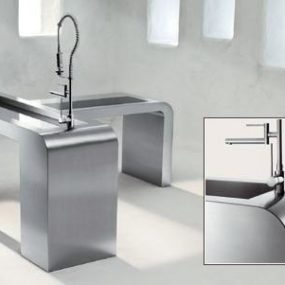 Steelart stainless steel worktop systems from Blanco – the art of steel