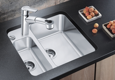 Compact Kitchen Sink Blanco kitchen sink new blancostatura compact sink with blasta3062 blanco kitchen sink new blancostatura compact sink with retractable faucet workwithnaturefo