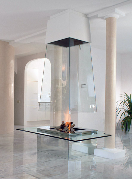 bloch design glass fireplaces 1 Glass Fireplace by Bloch Design