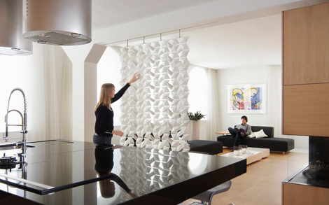 House Dividers Fascinating Contemporary Room Dividers  Lightfacet Dividerbloomming Inspiration