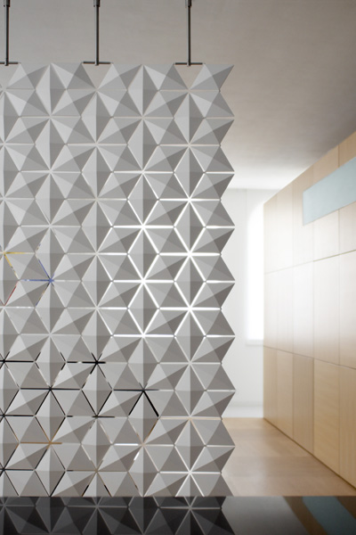 architectural room dividers. bloomming contemporary room divider lightfacet 3 jpg Contemporary Room Dividers  Lightfacet by Bloomming