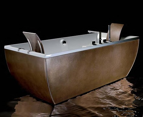 Metal Bathtub from Blubleu - new Kali Metal collection