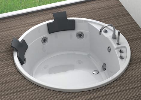 blubleu drop in bathtubs sunken alise Drop In Bathtubs   new sunken bathtubs by Blubleu