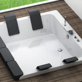 Drop-In Bathtubs – new sunken bathtubs by Blubleu