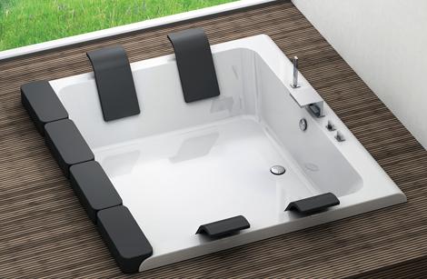 blubleu drop in bathtubs sunken thais 1 Drop In Bathtubs   new sunken bathtubs by Blubleu
