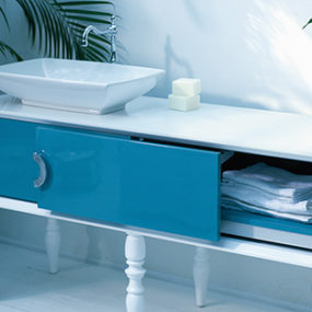 Blue Bathroom Furniture by Ypsilon – Doll