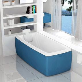 Colored Bathtubs by Blubleu – Lucky Color bathtubs