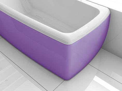 bluebleu colored bathtubs lucky color 2