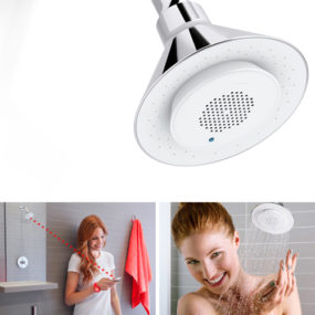 Bluetooth Shower Head by Kohler with Removable Speaker – Moxie