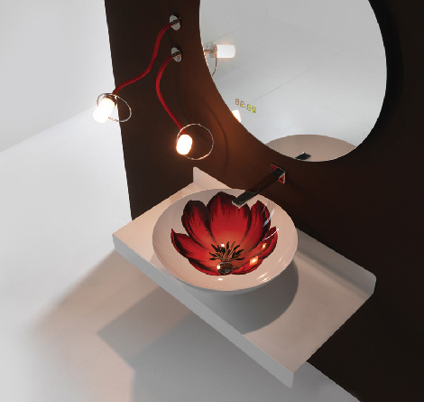 bmood washbasin aranel Decorative Washbasin from BMood   new Aranel washbasins