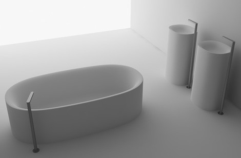 boffi bathroom collection sabbia 1 Boffi Bathroom   new Sabbia by Naoto Fukasawa and B 14 by Norbert Wangen bathrooms
