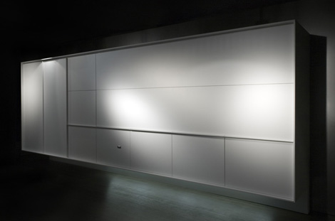 Fully Enclosed Kitchen from Boffi – new On / Off kitchen