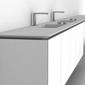 Boffi Bathroom – new Sabbia by Naoto Fukasawa and B-14 by Norbert Wangen bathrooms