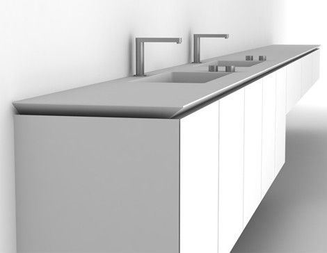 boffi vanity b 14 1 Boffi Bathroom   new Sabbia by Naoto Fukasawa and B 14 by Norbert Wangen bathrooms