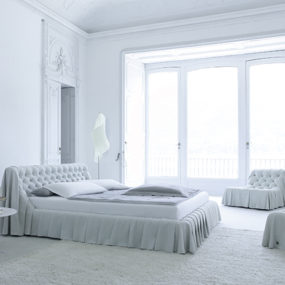 Old World Bedroom Furniture in Modern Interpretation – Bohemian Bed by Cinova Busnelli