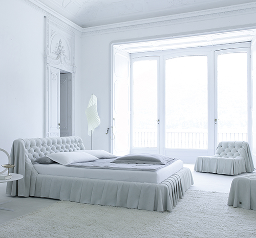 Old World Bedroom Furniture in Modern Interpretation – Bohemian Bed by Cinova Busnelli