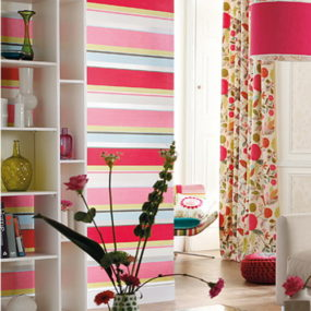 Bold Stripe Wallpaper by Tapeten Agentur