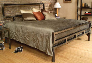 boltz classic bed frame Metal Bed Frame from Boltz   bed classics