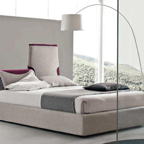 Italian Contemporary Bed by Bolzan Beds – Paciugo