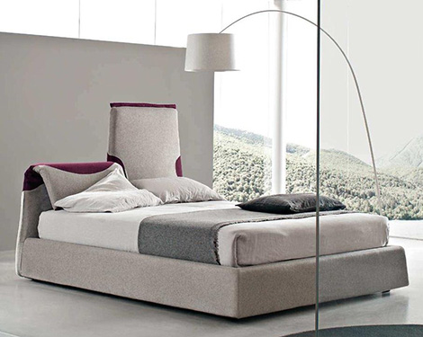 bolzan italian contemporary bed paciugo 1 Italian Contemporary Bed by Bolzan Beds   Paciugo