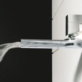 Waterfall Faucet from Bongio – the Riva above or below
