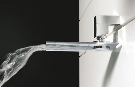 bongio waterfall faucet riva 1 Waterfall Faucet from Bongio   the Riva above or below