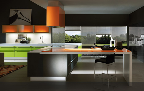 Contemporary Kitchen By Bontempi - Mood Ecleticklook Kitchen For