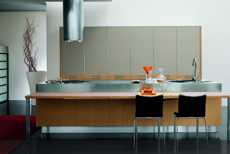 bontempi kitchen omnia 1 Modern Kitchen from Bontempi   Omnia kitchen