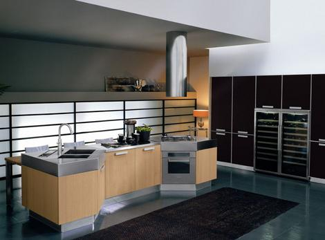 bontempi kitchen omnia 7 thumb Modern Kitchen from Bontempi   Omnia kitchen