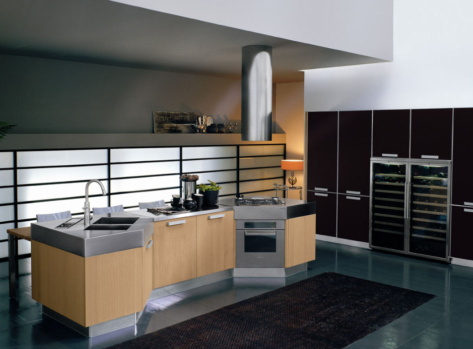 Modern Kitchen From Bontempi Omnia
