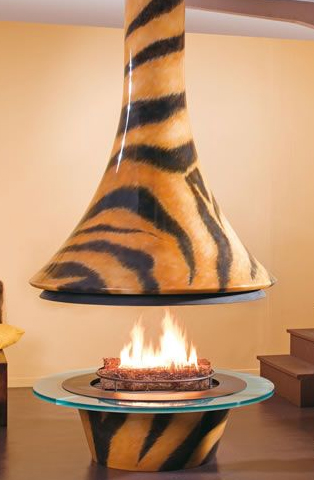 Bordelet fireplace Eva Tiger