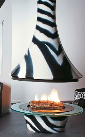 bordelet fireplace eva zebra