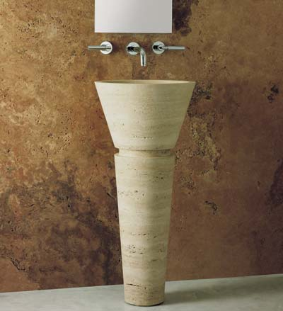 boxart washbasin virtu 1 Natural Stone Sink and Bathtub from Boxart