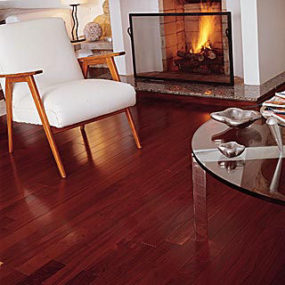 Exotic hardwood flooring by BR111 – Brazilian Walnut: the hardest wood flooring